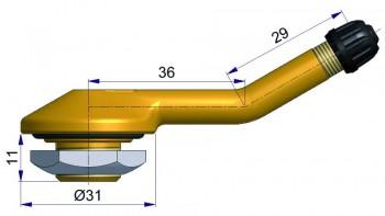 Вентиль б/к для подземной техники  R-1013-2
